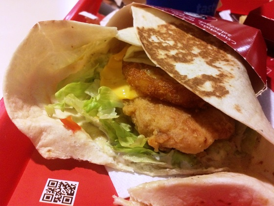 KFC – Mega Pocket menü