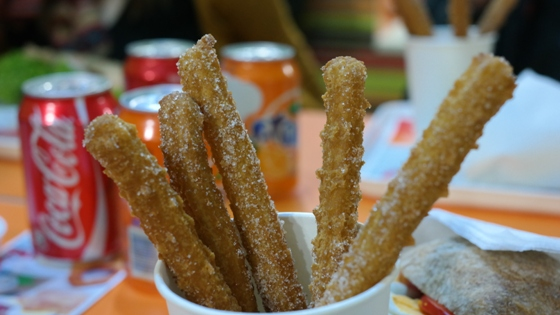 Churros Up – Churros menü