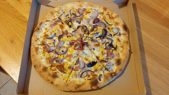 City Pizza – Dijoni pizza (32 cm)