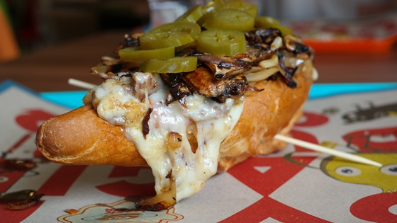 Magic Burger – Philly Cheese Steak Sandwich