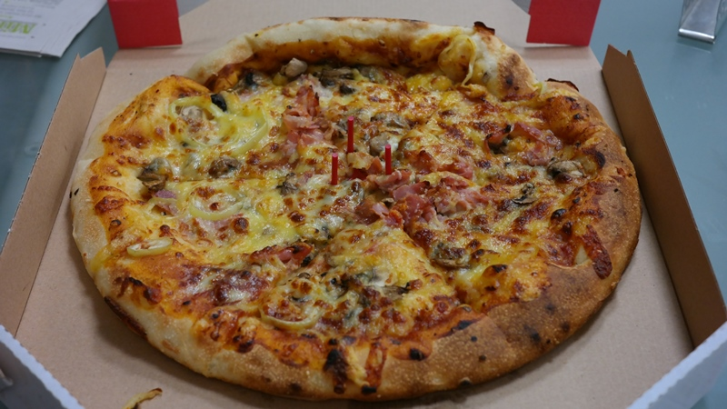 PizzaBoy – Barbecue pizza