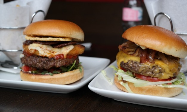 T.G.I. Friday's – Triple Bacon & Italian Stackhouse Burger