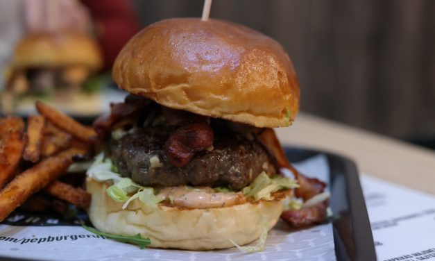 PeP Burger – Bacon burger
